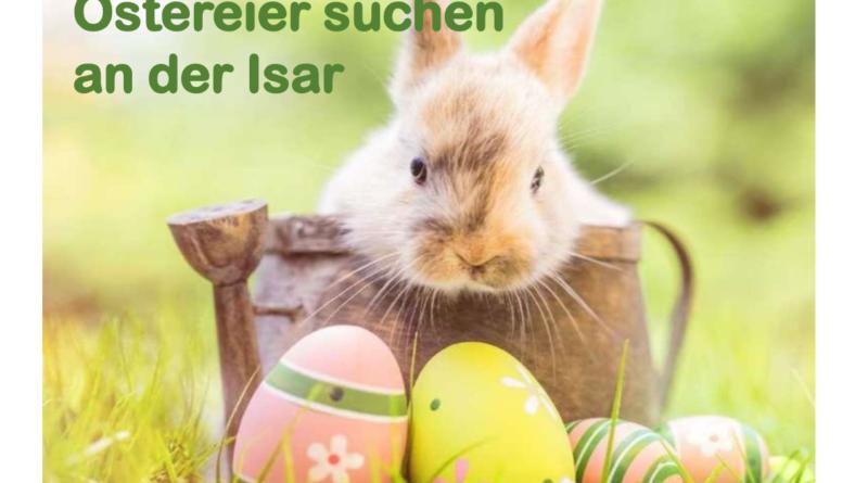Prisma Freizeit 5. April Ostereier suchen an der Isar